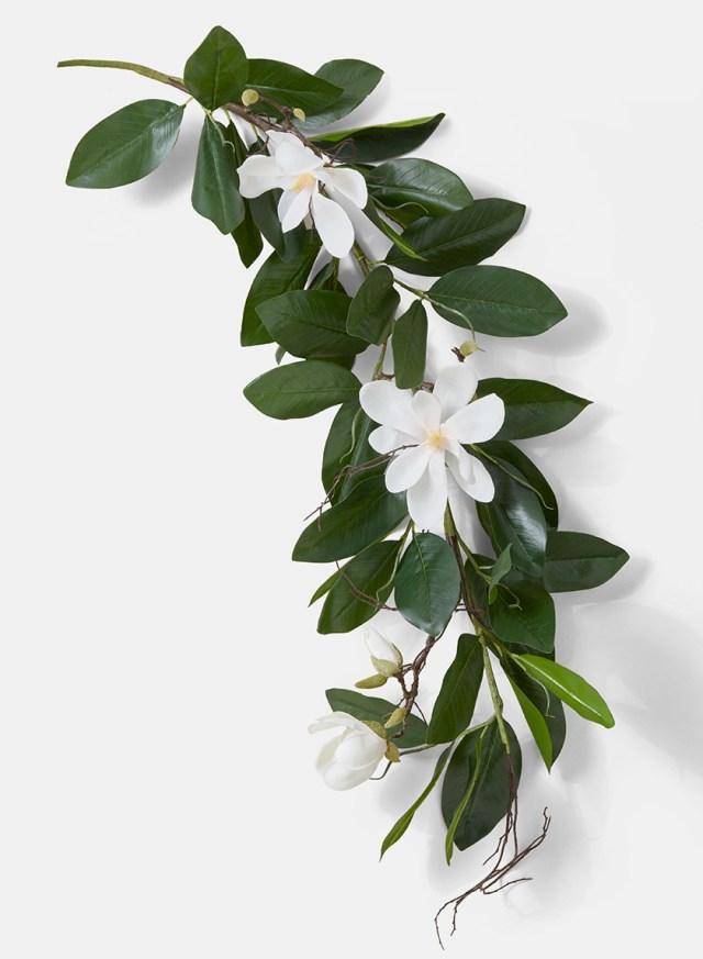 Garland Wedding Decor Magnolia Leaf Garland Wholesale Faux Magnolia Garland
