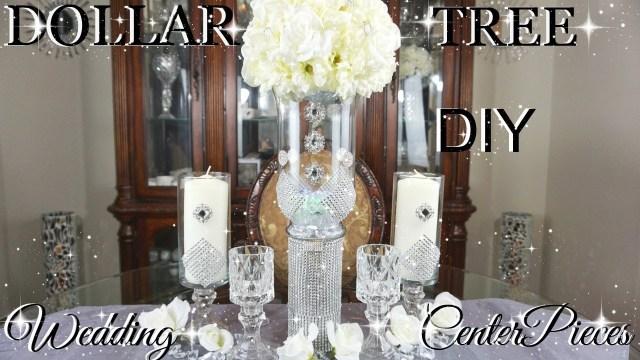 Glamourous Wedding Decor Diy Dollar Tree Glamorous Wedding Centerpieces With Totally Dazzled