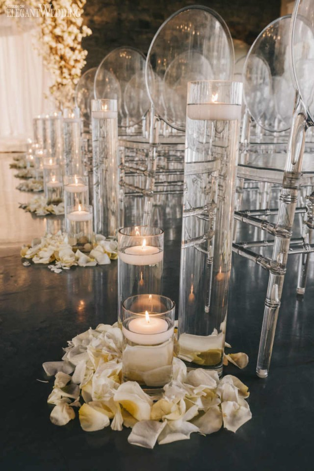 Glamourous Wedding Decor Glamorous Garden Wedding In A Ballroom Elegantweddingca