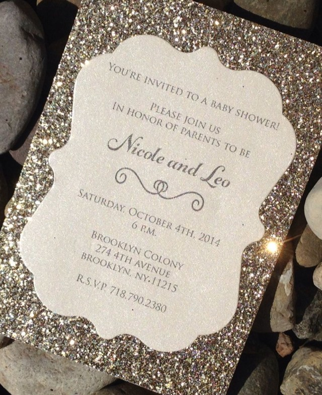Glitter Wedding Invitations Glitter Wedding Invitations Best Photos Wedding Invitations