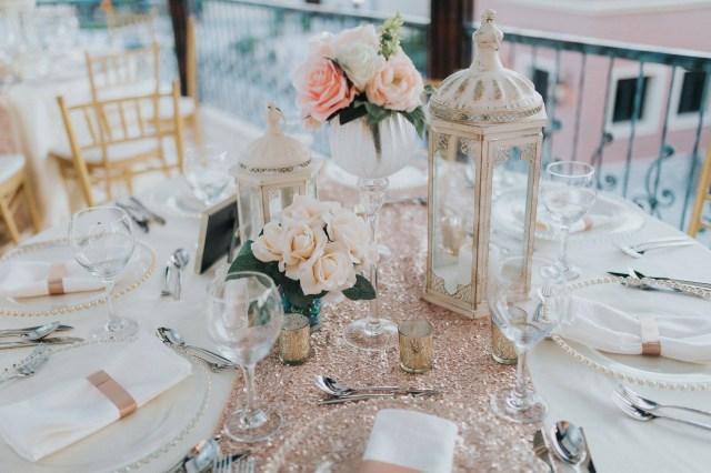 Gold Wedding Decor Elegant Rose Gold Wedding Decor Punta Cana Weddings Funjet