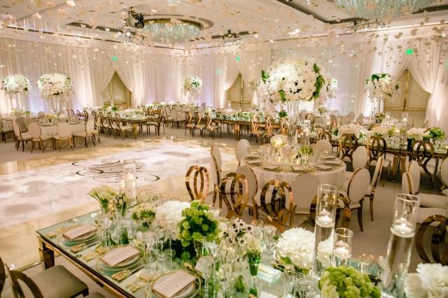 Gold Wedding Decor Rose Gold Wedding Ideas For Ceremony Reception Dcor Inside Weddings