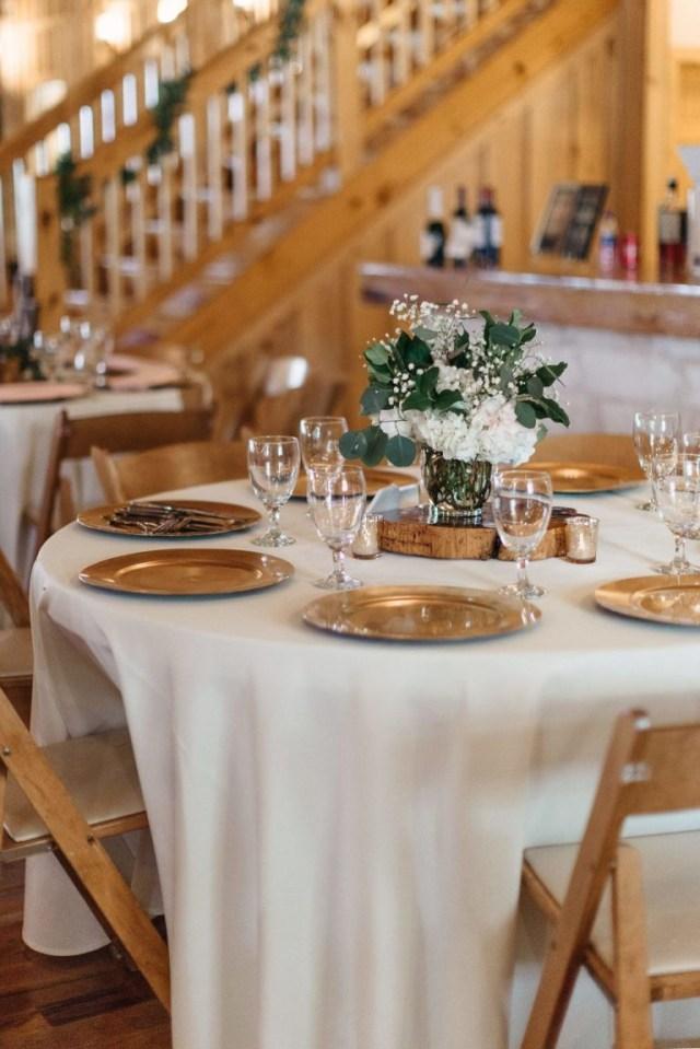 Gold Wedding Decor White Gold Wedding Table Centerpiece Modern Rustic Wedding Table