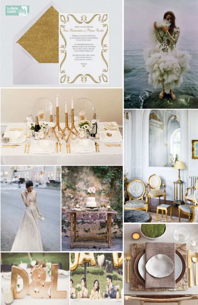 Gold Wedding Ideas Decoration White Gold Wedding Online Wedding Invitations And Ideas To