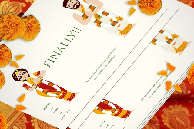 Indian Wedding Invitation Indian Wedding Invite On Behance