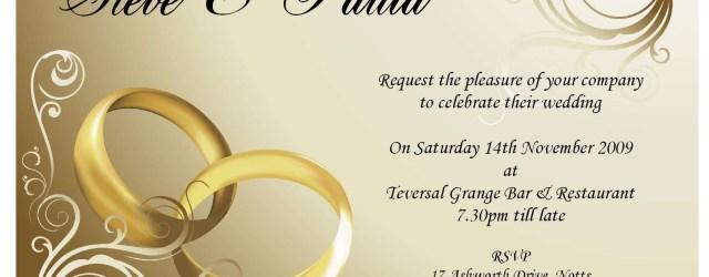 Invitation For Wedding Wedding Invitation Card Design Online Free Wedding Invitations
