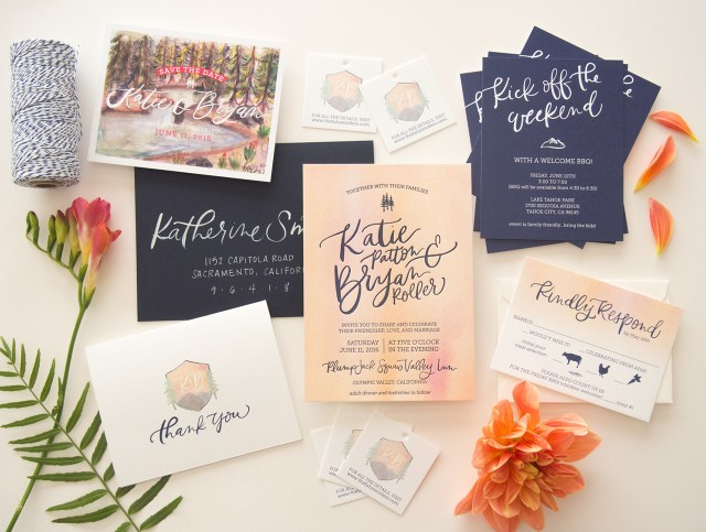 Invitations For Wedding The Best Wedding Invitations Of 2016