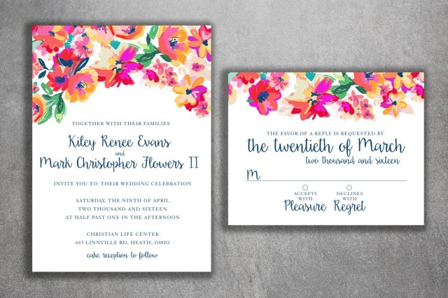 Invitations Wedding Cheap Floral Wedding Invitations Cheap Floral Wedding Invitations