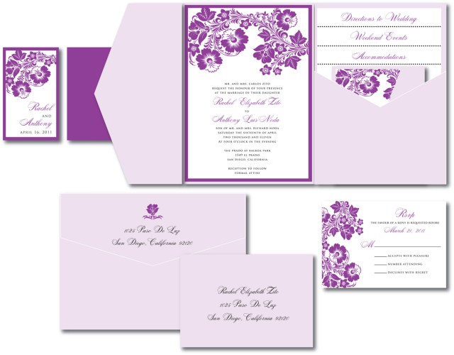 Lavender Wedding Invitations Lavender Wedding Invitations Lavender Wedding Invitations And