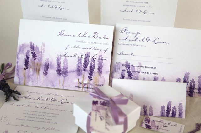 Lavender Wedding Invitations Lavender Wedding Invitations Luxury Wedding Invitations