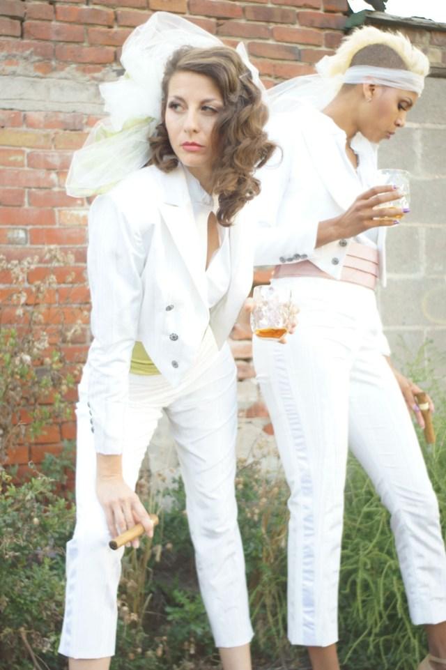 Leabian Wedding Ideas Lesbian Wedding Tuxedo Denver Dressmakers