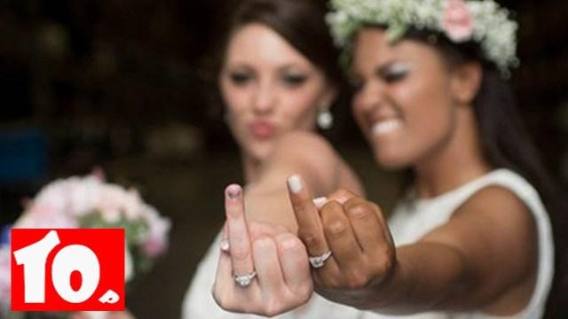 Leabian Wedding Ideas Top 10 Lesbian Wedding Photo Ideas Youtube