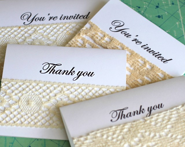 Making Wedding Invitations Easy Diy Wedding Invitations