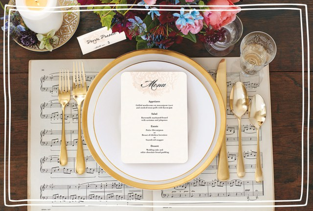May Wedding Ideas The Best Wedding Menu Ideas Season 2019 Shutterfly