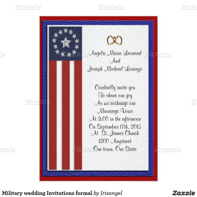 Military Wedding Invitations Military Wedding Invitations Formal Military Wedding Invitations