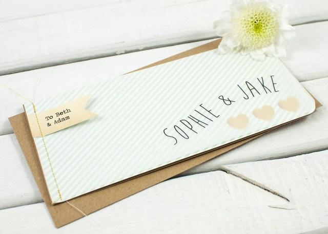 Minted Wedding Invitations Mint Stripe Stitched Booklet Wedding Invitations Normadorothy
