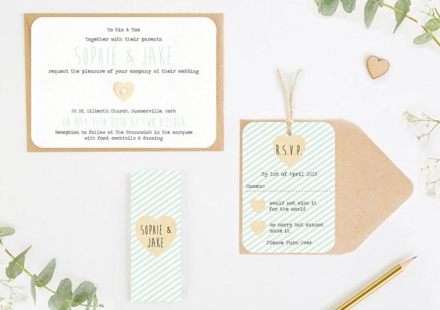 Minted Wedding Invitations Mint Stripe Wedding Invitations Normadorothy