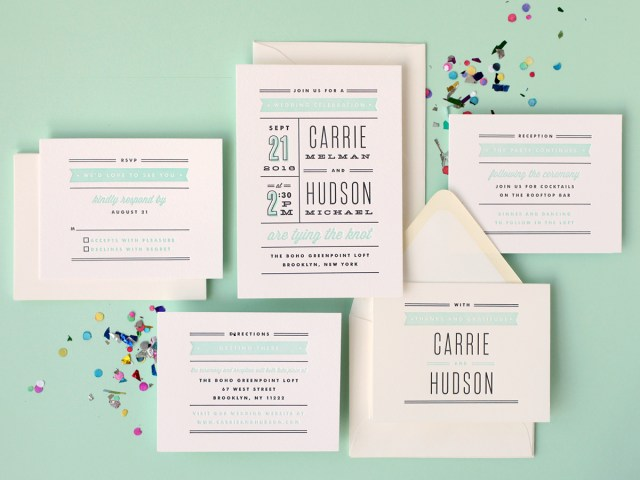 Minted Wedding Invitations Win 500 From Minted Letterpress Wedding Invitations Snippet