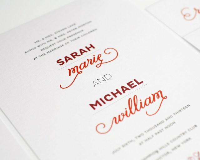 Modern Wedding Invitations Modern Wedding Invitations Shutterswv Modern Wedding