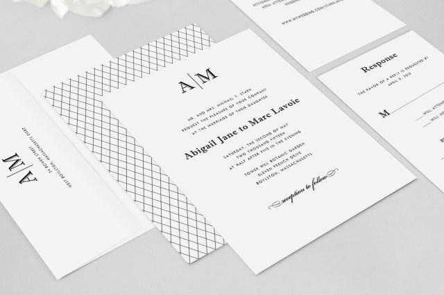 Monogram Wedding Invitations Monogram Wedding Invitations Monogram Wedding Invitations With
