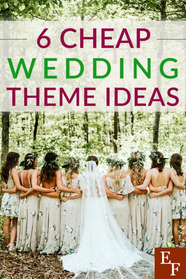 Original Wedding Ideas 6 Cheap Wedding Theme Ideas