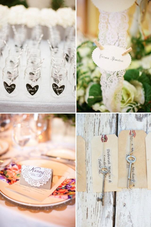 Original Wedding Ideas Unique Wedding Reception Ideas Escort Cards Diys