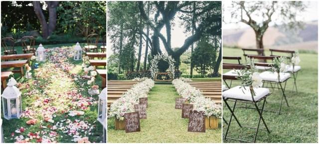 Outdoor Wedding Ideas 25 Rustic Outdoor Wedding Ceremony Decorations Ideas