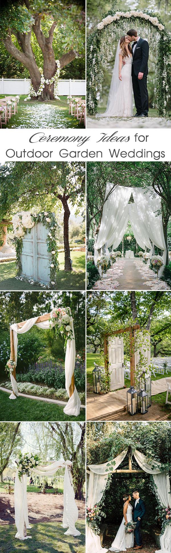 Outdoor Wedding Ideas 48 Most Inspiring Garden Inspired Wedding Ideas