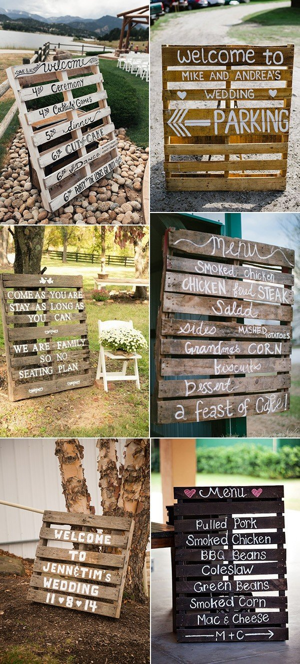 Pallets Wedding Ideas 24 Ideas To Use Wood Pallet For Your Country Wedding Oh Best Day Ever