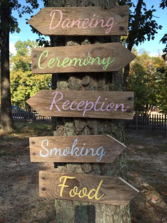 Pallets Wedding Ideas Wedding Arrow Signs Rustic Wedding Pallet Directional Arrows Wedding