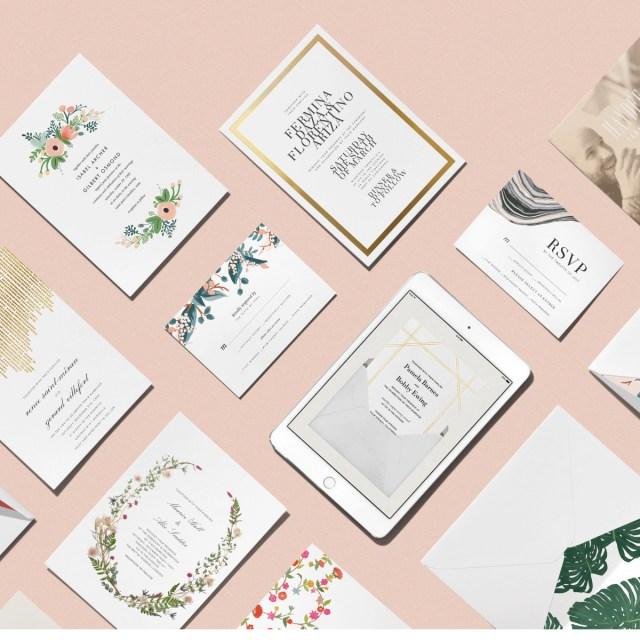 Paperless Wedding Invitations Paperless Wedding Invitations All For Wedding