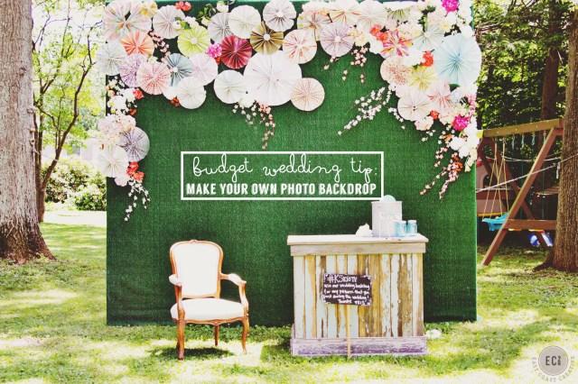 Photobooth Ideas Wedding Diy Photo Booth Backdrop Knock It Off Wedding