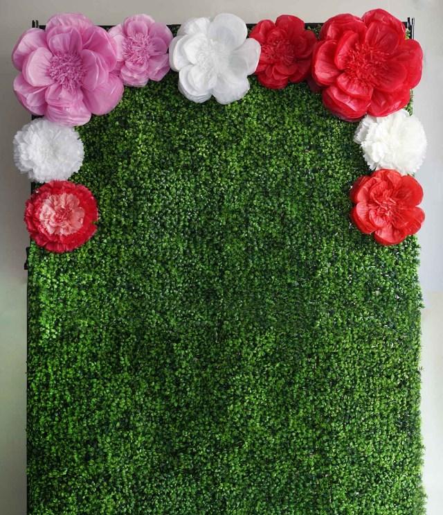 Photobooth Wedding Ideas Wedding Ideas 20 In Paper Large Peonies Flower Wall Backdrop
