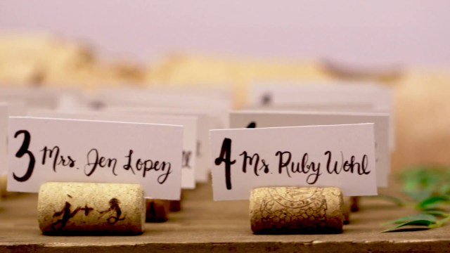 Placecards Wedding Diy Diy Wine Cork Place Card Holders For Your Wedding Youtube