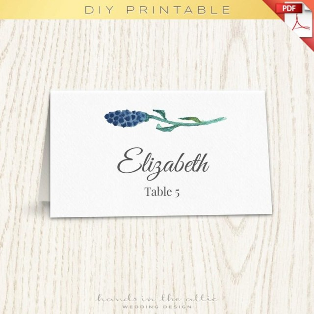 Placecards Wedding Diy Floral Wedding Placecard Template Printable Escort Cards Wedding