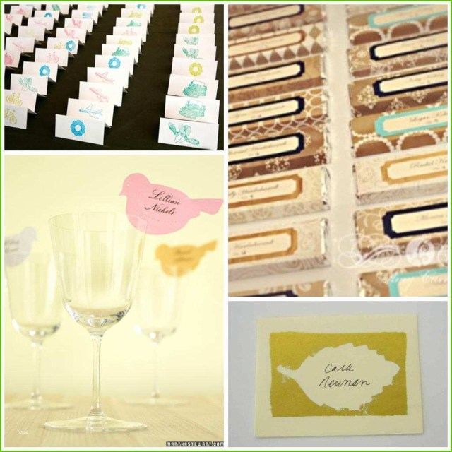 Placecards Wedding Diy Name Place Cards For Wedding Reception Luxury 16 Diy Wedding Place