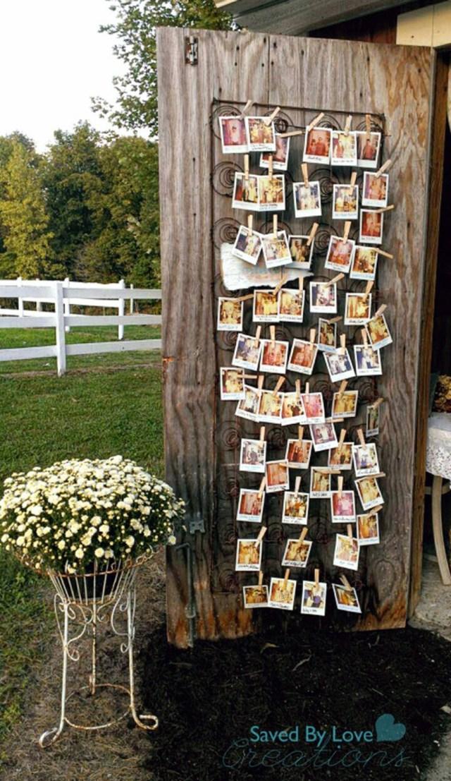 Poloroid Wedding Ideas Decorating Vintage Wedding Decor With Polaroid Photo Display 24
