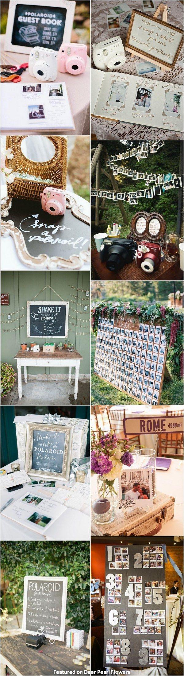 Poloroid Wedding Ideas Unique Wedding Themes Ideas 30 Creative Polaroid Wedding Ideas You