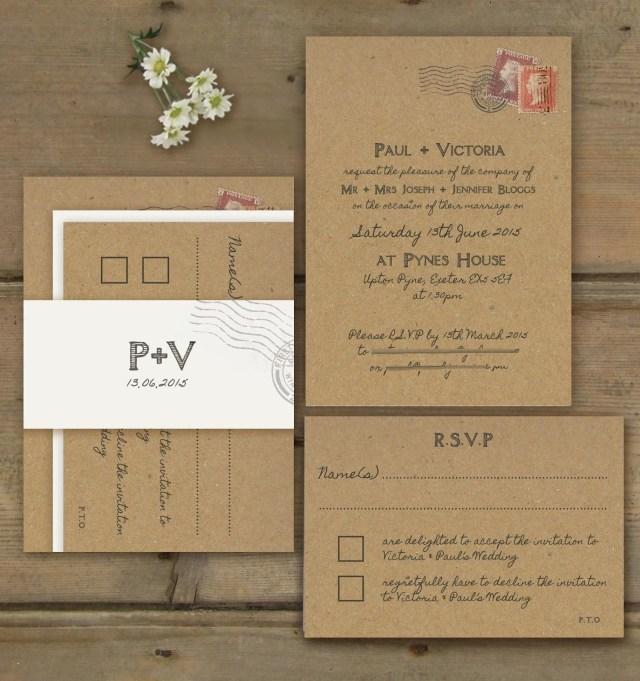 Postcard Wedding Invitations Wedding Ideas Postcard Wedding Invitations Grandioseparlor