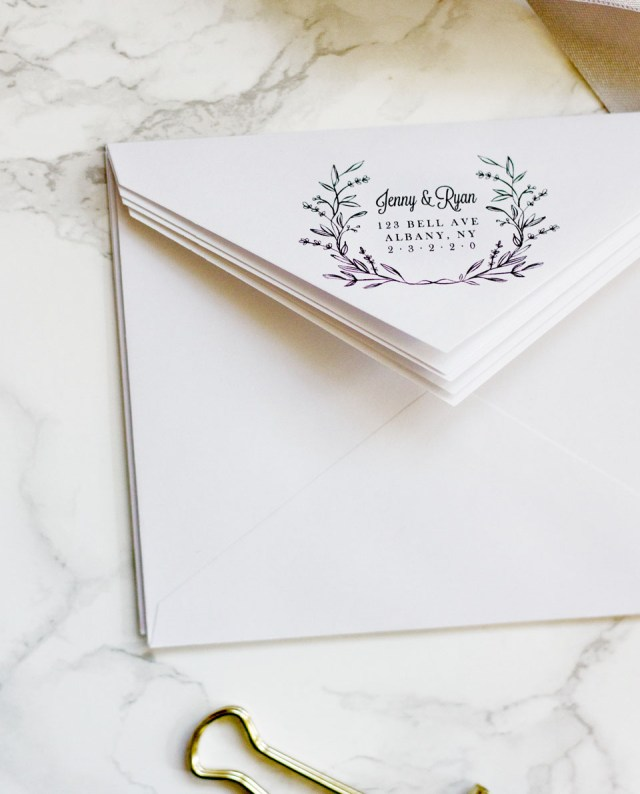 Print Your Own Wedding Invitations Easy Printable Envelope Template Pipkin Paper Company
