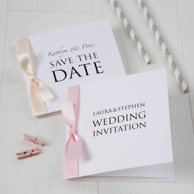 Printed Wedding Invitations Personalised Wedding Invitation Twenty Seven Notonthehighstreet