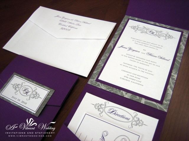 Purple And Silver Wedding Invitations Purple And Silver Wedding Invitations Amazing Design 11 On
