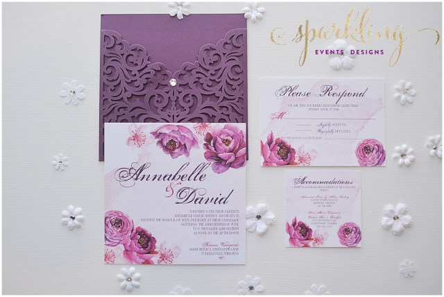 Purple Wedding Invitation Kits Printable Purple Wedding Invitation Kits Download Them Or Print