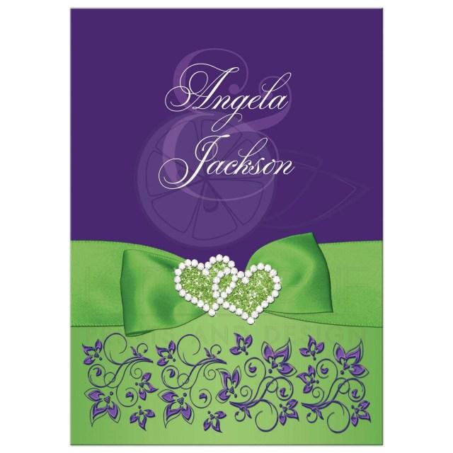 Purple Wedding Invitation Kits Purple Wedding Awesome Invitations And Orange Invitation Kits
