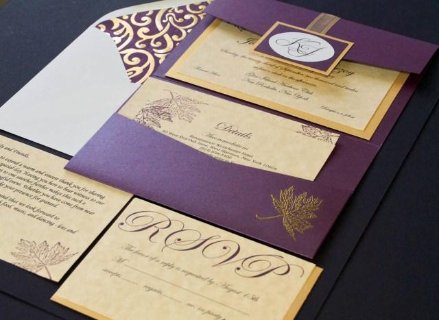 Purple Wedding Invitation Kits Purple Wedding Invitations Kits New Affordable Purple Flower