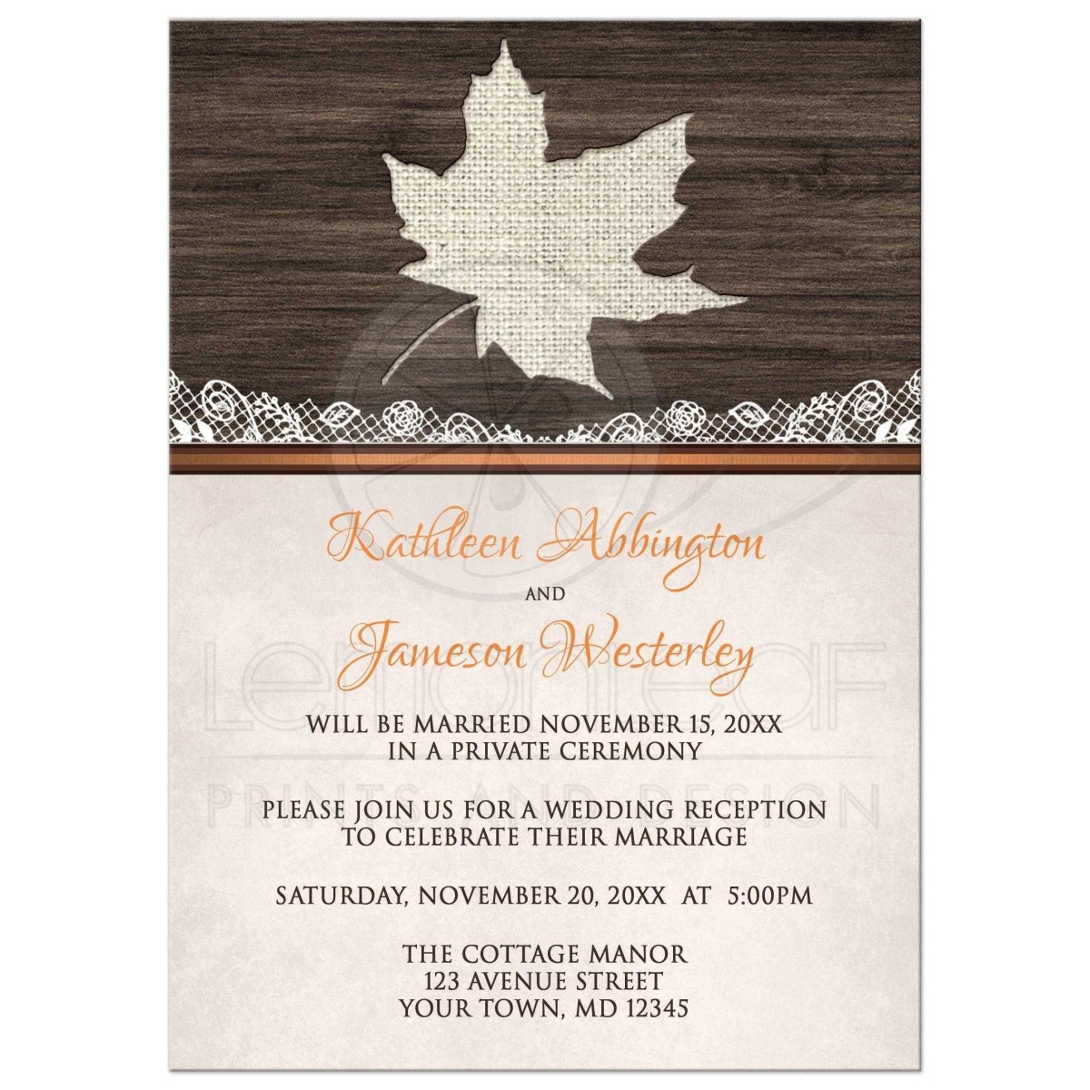Reception Only Wedding Invitations Invitation