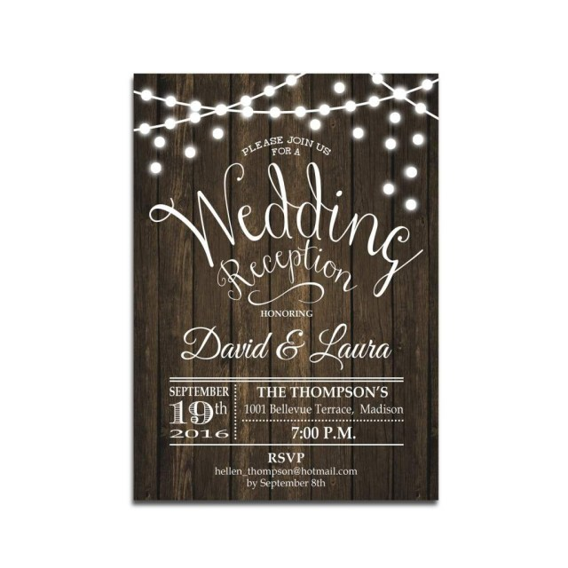 Reception Only Wedding Invitations Reception Only Wedding Invitations Wedding Pinterest Wedding