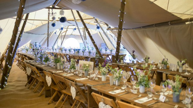 Recycled Wedding Decorations Marquee Decoration Ideas To Make Your Wedding More Stylish
