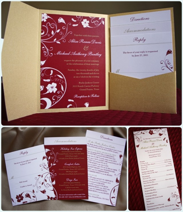 Red And Gold Wedding Invitations Red And Gold Wedding Invitations Red And Gold Wedding Invitations