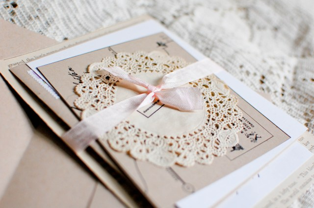 Rustic Chic Wedding Invitations Diy Tuesday Paper Diy Rustic Chic Wedding Invitations Loverly
